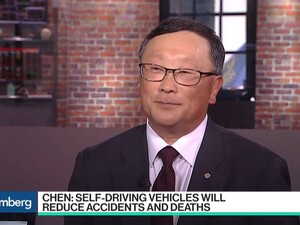 John Chen discusses the next steps needed for autonomous car regulation