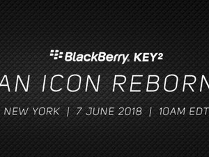 We'll officially hear more about the BlackBerry KEY2 on June 7