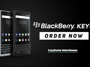 You can now pre-order the BlackBerry KEY2 from Carphone Warehouse
