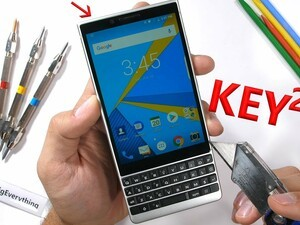 The BlackBerry KEY2 passes all of JerryRigEverything's durability tests