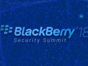 Registration now open for BlackBerry's 2018 Security Summits