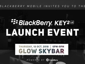 Join us for the BlackBerry KEY2 LE Vietnam launch event!