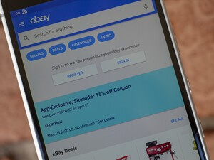 Use eBay's Mobile App to save 15% on everything sitewide