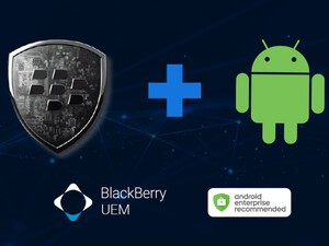 BlackBerry UEM is now part of the Android Enterprise Recommended program