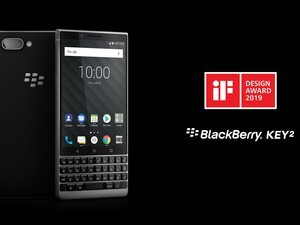 BlackBerry KEY2 and KEY2 LE take home 2019 iF Design Awards
