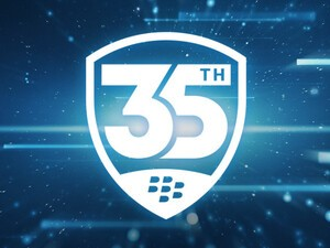 BlackBerry celebrates its 35th birthday!