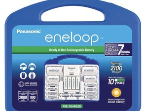 Panasonic Eneloop rechargeable batteries are down to their lowest price