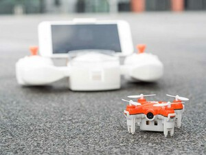 Take to the skies with this sweet mini drone for just $64!