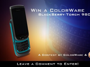 Contest: Win a Custom-Painted BlackBerry Torch Courtesy of ColorWare and CrackBerry.com! You pick the color scheme!!