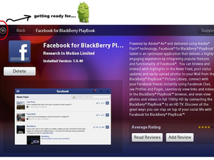 Latest PlayBook OS update gives glimpse of future Android app treatment in BlackBerry App World