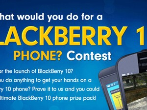 Contest Update: What would you do for a BlackBerry 10 phone?