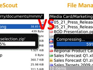 BBFileScout - Review and Comparison to File Manager Pro