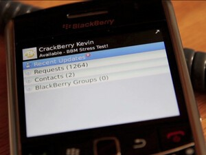 BlackBerry Messenger stress test 2 conclusion and video highlights; Bold 9650 did better than 9000 but not all was :)