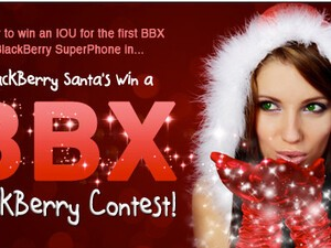 And the winner of the CrackBerry Santa Contest is....