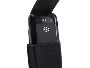 BlackBerry Case Tip: BlackBerry Bold 9000 Leather Holster works with the Bold 9930 / 9900 Hard and Soft Shell Case!