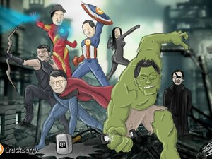 Assemble the BlackBerry Avengers!