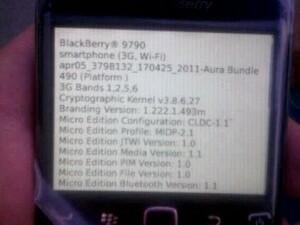 BlackBerry Bold 9790 (Onyx III?!) Photos Emerge!