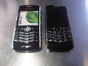 First Look: BlackBerry Pearl 9100 / 8100 Comparison Photos
