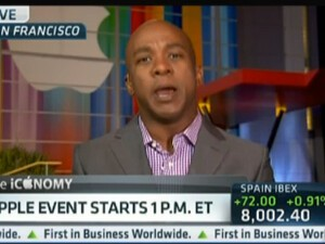 CNBC reporter confesses his preference for BlackBerry on air while hyping today's iPhone 5 event