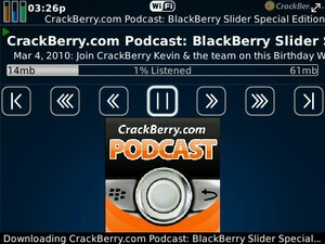 Download It Now: Free CrackBerry Podcasts App Available in BlackBerry App World!