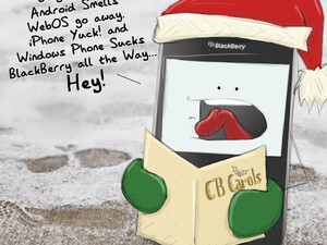 A CrackBerry Christmas Carol... Jingle Bells, Android Smells!