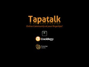 Tapatalk for BlackBerry Officially Available - Makes participating in forums from your BlackBerry Smartphone a joy!