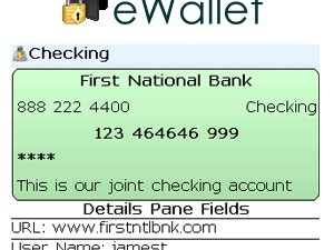 Review: eWallet for BlackBerry Smartphones