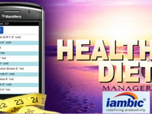 Health and Diet Manager for BlackBerry Smartphones