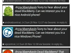 iCrackBerryKevin+    If your next smartphone could not be a BlackBerry, what would it be?