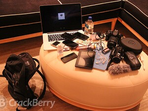 CrackBerry @ CES - What's in Kevin's Bag?!!