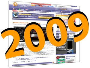 Most Viewed CrackBerry Articles and Editors' Favorite Blog Posts in 2009