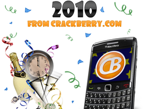 Happy New Year from CrackBerry.com! All the Best in 2010!