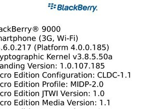 OS 4.6.0.217 Leaked for the BlackBerry Bold!