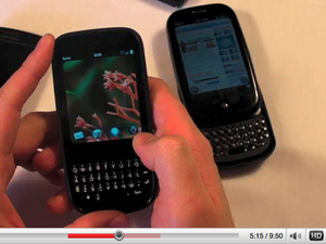Video: Palm Pre / Pixi / WebOS Hands-On Walk Through, Smartphone Round Robin