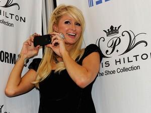 Paris Hilton now rocks the BlackBerry Torch