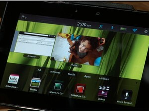 BlackBerry PlayBook Live Demo! [video and photos]