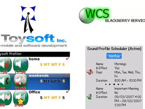 Profiler v1.5 versus BlackBerry Profile Scheduler v1.3
