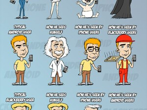 Weekend Humor: How Smartphone Users See Each Other