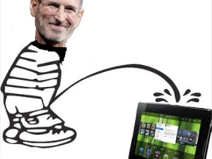 CrackBerry Poll: Steve Jobs says 7