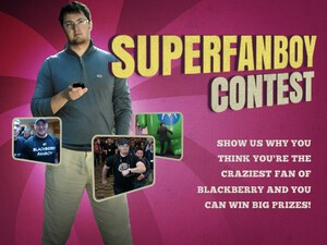 And the Winner of CrackBerry's BlackBerry Super Fanboy Contest is....