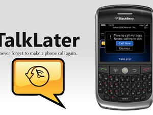 TalkLater v1.0 for BlackBerry Smartphones