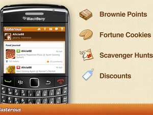 Tasterous for BlackBerry now available - new location based food hunting app will lead you to the best local dishes nearby!