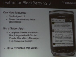 Twitter for BlackBerry v2.0 beta coming this week!