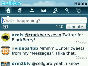 CTIA 2010: Twitter for BlackBerry Available March 31st