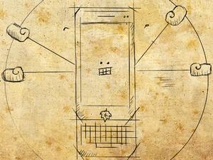BBDoodle: The Vitruvian BlackBerry
