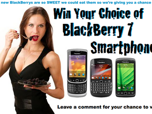 CrackBerry Contest: Win your choice of FREE BlackBerry 7 Smartphone!