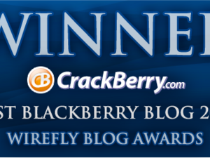 CrackBerry Named Best BlackBerry Blog in 2010 Wirefly Awards; Contest: We're Giving Our Prize to You!