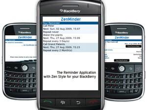Zen Minder for BlackBerry Smartphones Reviewed