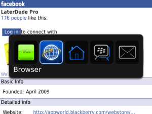 Get an extra browser tab on OS 5.0 with SecondTab