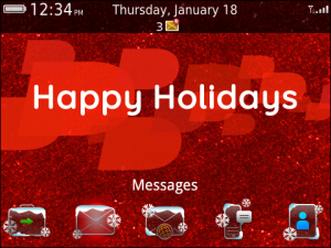 BlackBerry holiday themes now supported in more regions